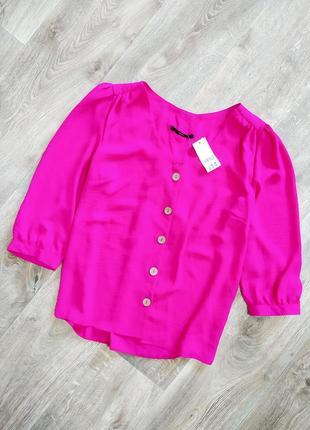 Актуальная блузка кофточка с пуговицами