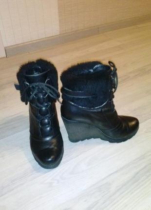 Ботинки зима  натур