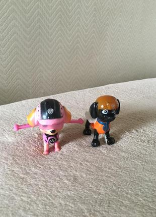 Щенячий патруль игрушки фигурки скай зума3 фото