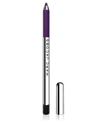 Карандаш для глаз marc jacobs gel crayon plum слива