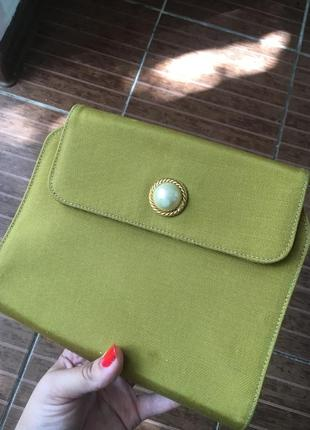 Moschino redwall клатч сумка винтаж с номером