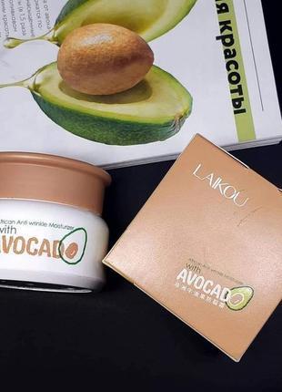 Крем для лица laikou avocado авокадо защитный увлажняющий probeauty