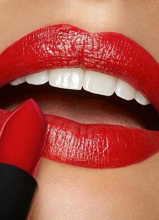 Кремовая красная помада kiko milano smart fusion lipstick 453