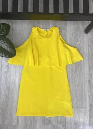 Яркое платье zara