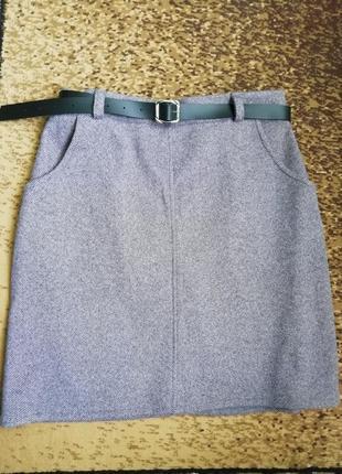 Продам  тепленькую новую юбку