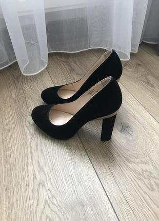 Туфли туфлі замш
