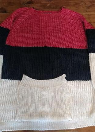 Свитер, пуловер, свитшот, оверсайз