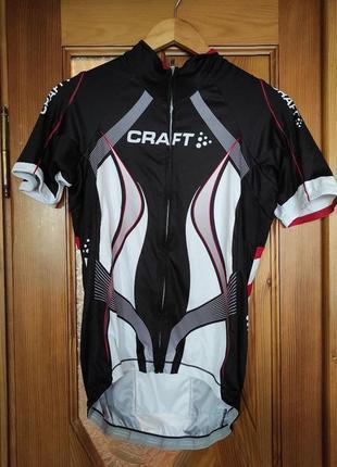 Велофутболка craft крафт веломайка чоловіча мужская велоодяг велоодежда
