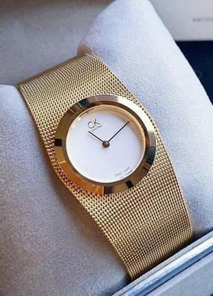 - 65% | женские швейцарские часы calvin klein impulsive k3t235 (оригинальные, с биркой)