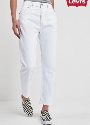 Levis джинси білі прямі джинсы прямые