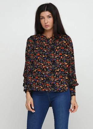 Блуза radda  черная 5005-74