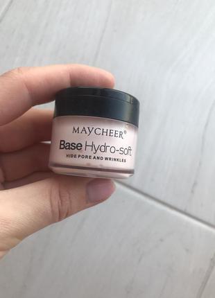Праймер для широких пор maycheer base hydro soft