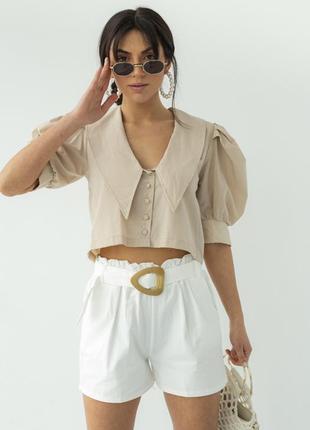 Сорочка / блуза / рубашка з натуральної тканини
