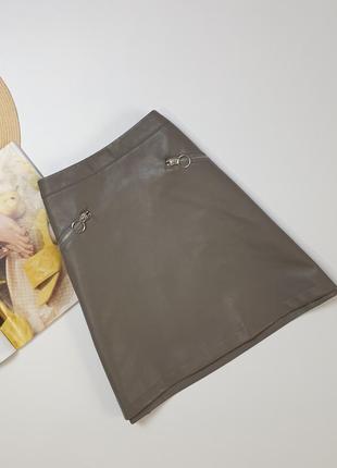 Серая мини юбка от primark •размер: s / m