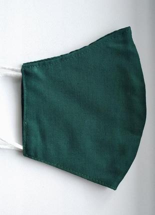Маска защитная тканевая 2-х-слойная многоразовая