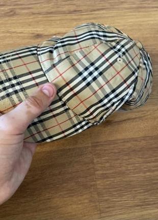 Бейсболка burberry, made in england, оригинал, one size