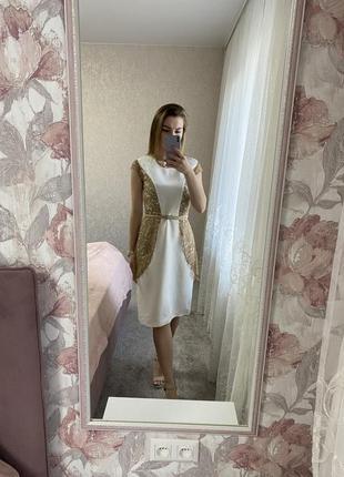 Нежное платье в единственном экземпляре!