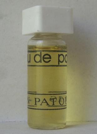 Миниатюра - jean patou eau de patou - edt - 4 мл. оригінал. вінтаж