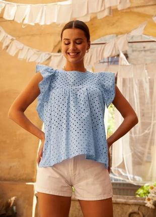 👑 блуза с вышивкой2 фото