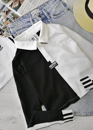 Красивый топ поло t shirt polo adidas