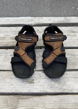 Оригиналы кожаные сандали timberland mountain athletics босоножки
