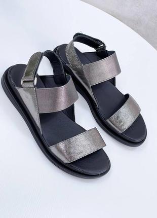 Босоножки натуральная кожа женские кожаные сандалии босоніжки шкіряні сандалі жіночі