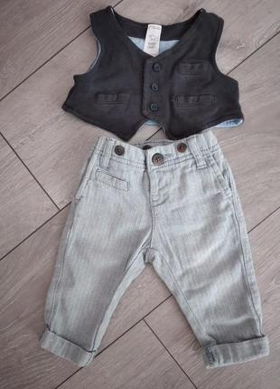 Сірі крутезні штанішки для малечі 🤗