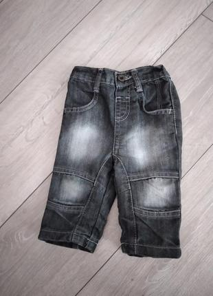Темно-сірі джинси ,68 см