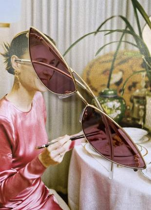 Рожеві лінзи, сонцезахисні окуляри, літо 2021