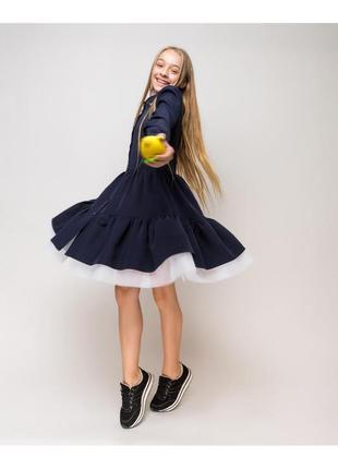Шикарные школьные платья