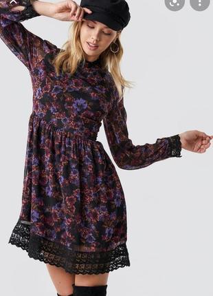 Шифоновое платье от na-kd без торга