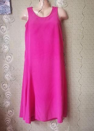 August silk шёлковое платье.