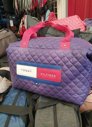 Летняя женская сумка из плотной болоньи