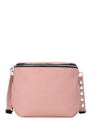 Новинка, вместительная  трендовая розовая сумка для девушки