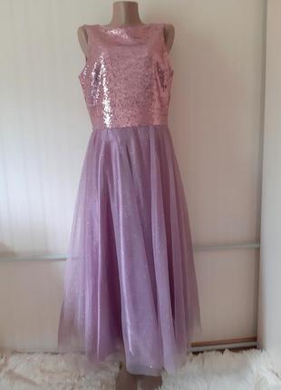 Красивенное очень нарядное вечернее платье от seam