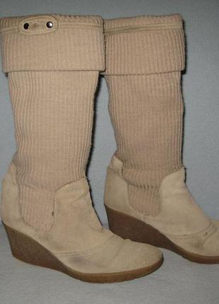 Італійські теплі шкіряні чоботи 6527efe0a0ede