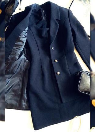 Пиджак и сарафан однотонный, костюм офисный tom klaim