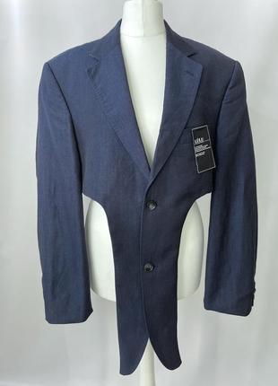 Перешитый пиджак с мужского плеча