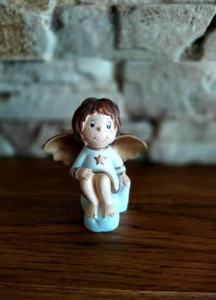 Винтажная статуэтка ангелочек ангел