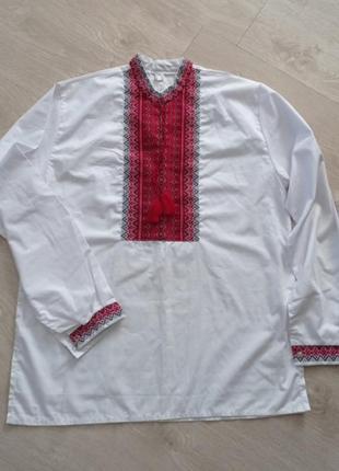 Вишивка вишиванка чоловіча сорочка вишита орнамент