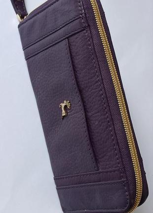 Шикарный кожаный кошелек от ashwood