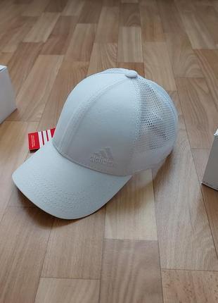 Классная кепка бейсболка унисекс сетка 56-58 белая
