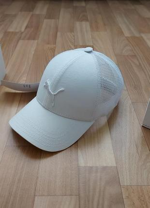 Классная кепка бейсболка унисекс 56-58 белая