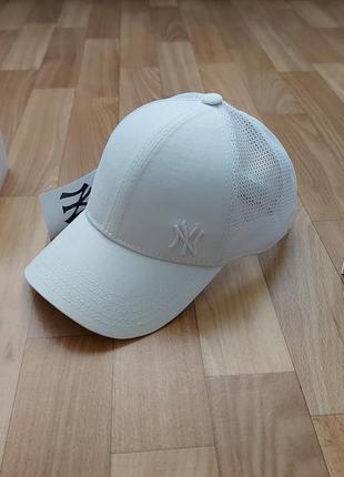 Молодежная кепка бейсболка унисекс коттон +сетка 56-58