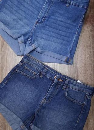 Женские джинсовые шорты h&m