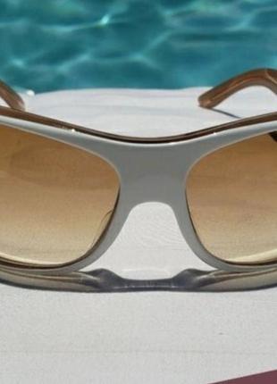 Стильные винтажные солнцезащитные очки christian dior, оригинал