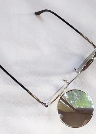 Очень классные и стильные солнцезащитные очки круглая оправа!6 фото