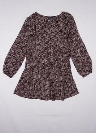 Стильное, красивое платье с длинным рукавом для девочки 10 лет