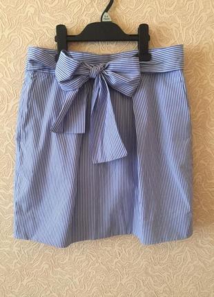 Новая фирменная юбка дорогого j.crew, размер м, 100% хлопок