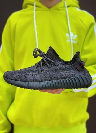 Кроссовки adidas yeezy boost 350 v2 all black